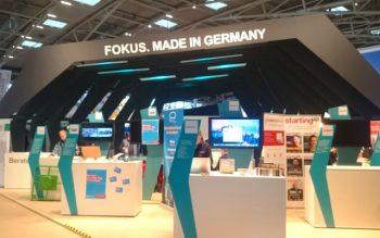 """Themenstand """"Fokus. Made in Germany"""" auf der IHM 2017"""