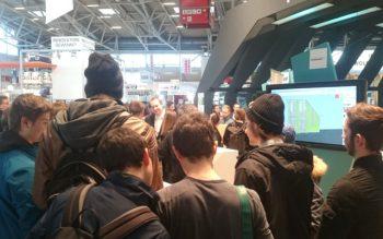 Schulklassen zu Besuch bei schrankwerk.de auf der IHM