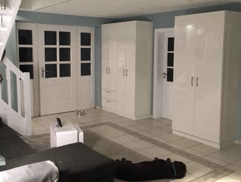 Einbauschränke im Wohnzimmer
