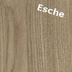 Holzdekor Esche für rustikale Möbel