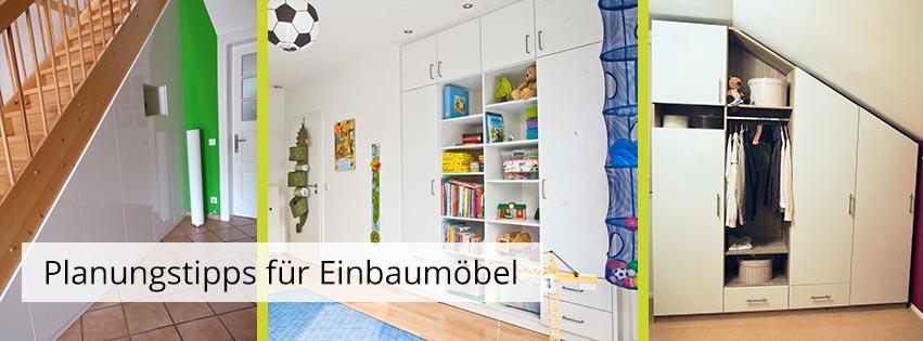 Planungstipps für Räume mit speziellen Einbausituationen