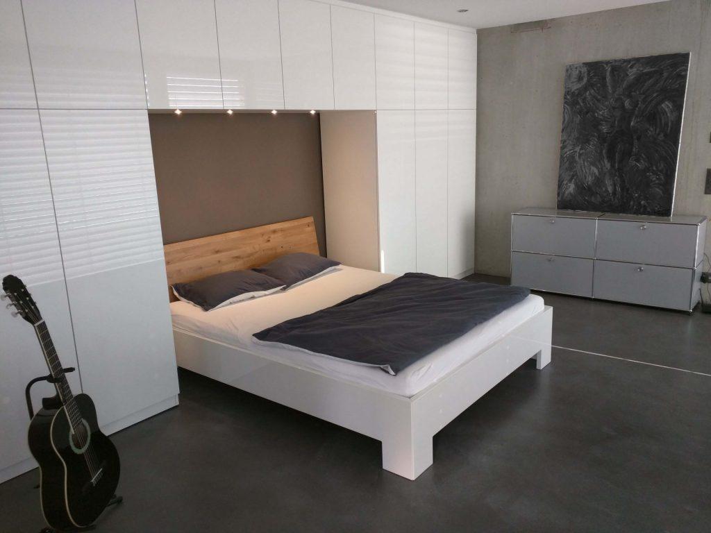 Schlafzimmer im Black and White Stil
