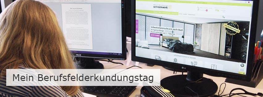Berufsfelderkundungstag bei schrankwerk.de