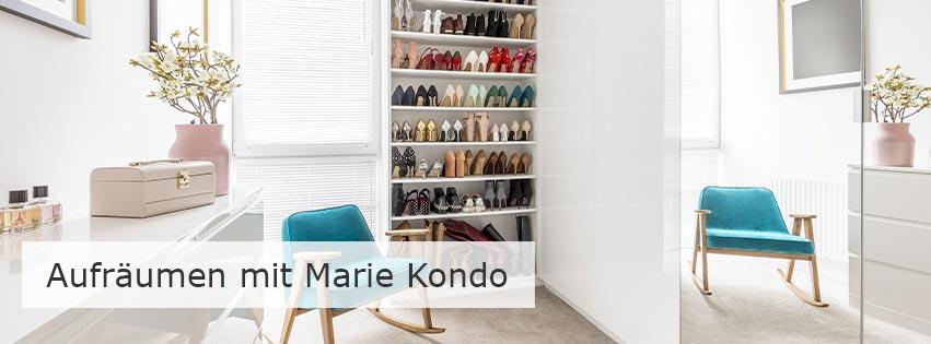 Aufräumen mit Marie Kondo