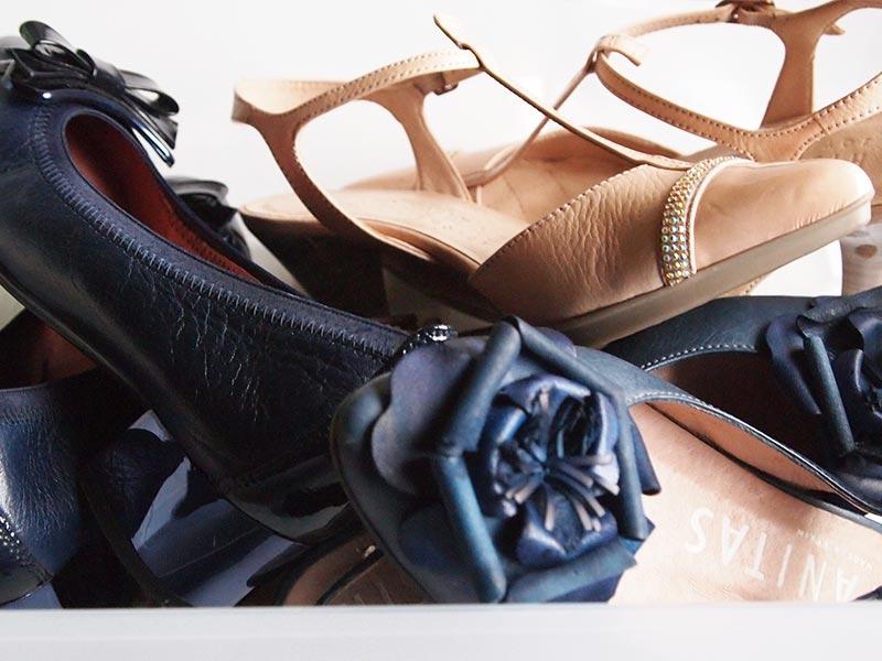 Schuhe in Box