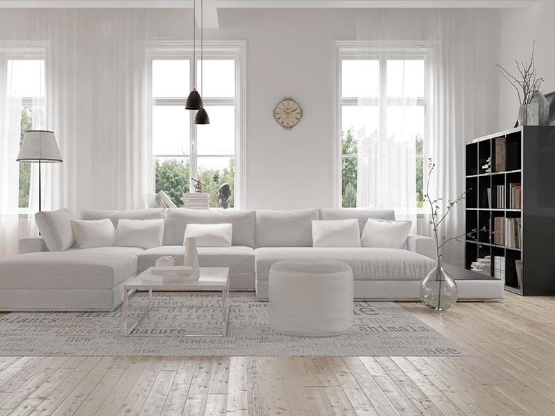 weiße raumgestaltung