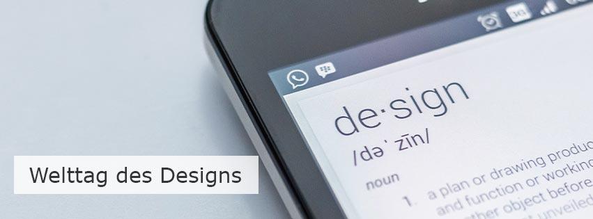 Am 27. April 2019 ist der Welttag des Designs: Funktionalität und Ästhetik gehen Hand in Hand
