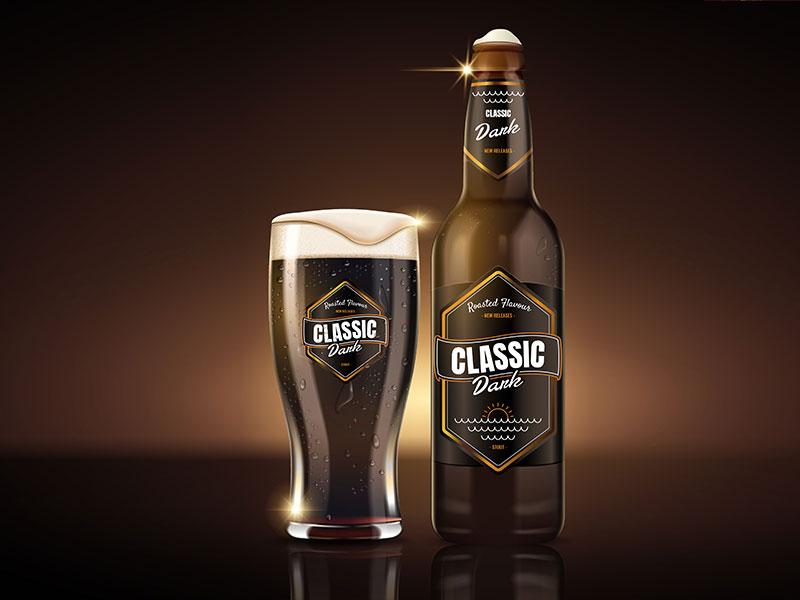 Bierflaschen Design