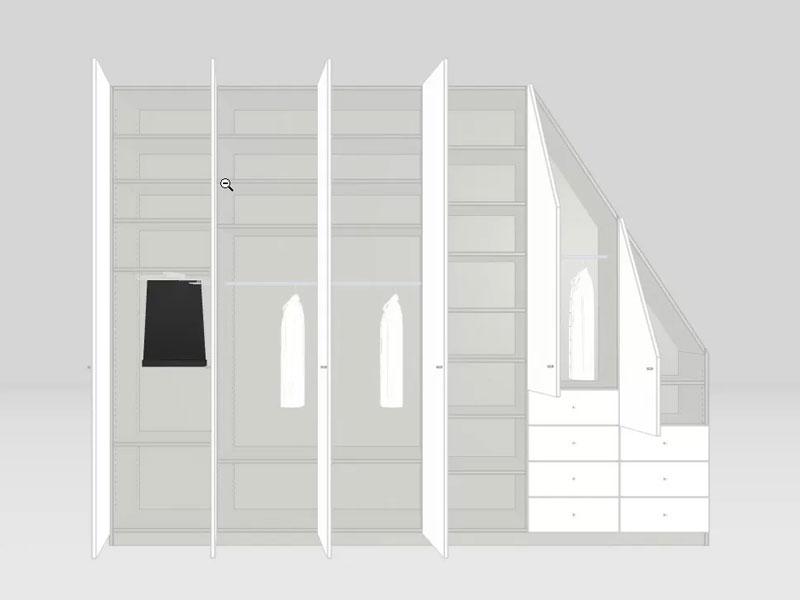 konfiguration dachschrägenschrank