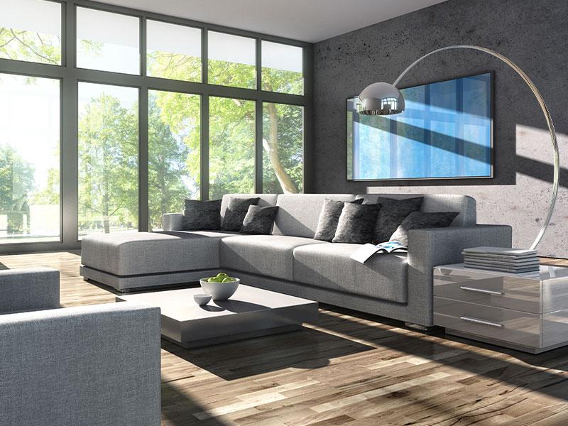Design im Wohnzimmer