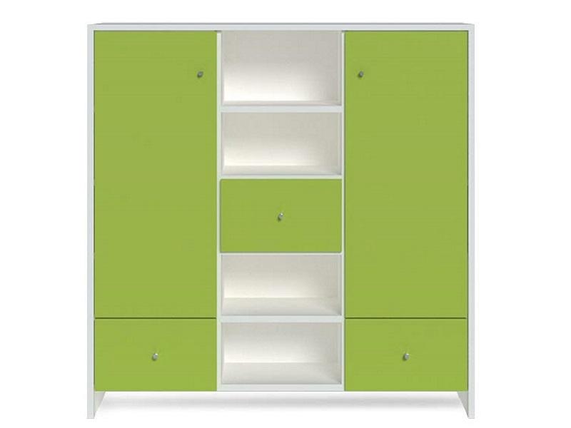 Kommode mit grünen Fronten fürs Kinderzimmer