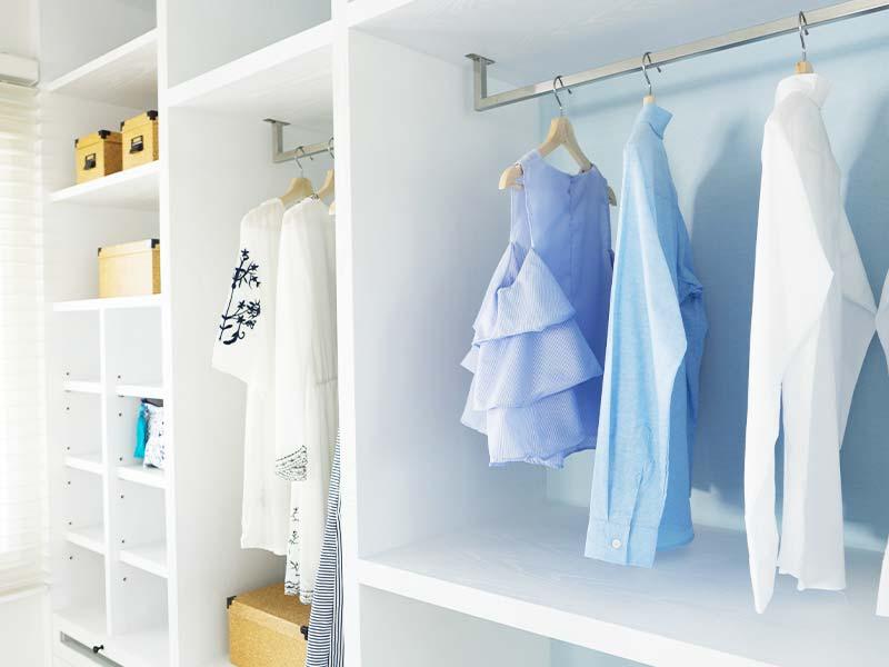 Kleiderschreank weiß