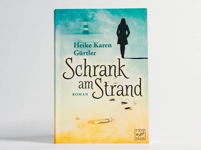 Buch - Schrank am Strand