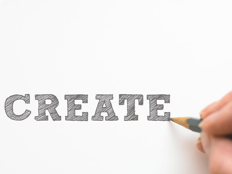 Kreativ sein