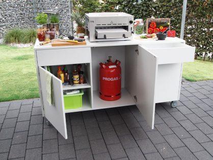Grillküche DIY – wie aus einem Lowboard ein Grillboard wird