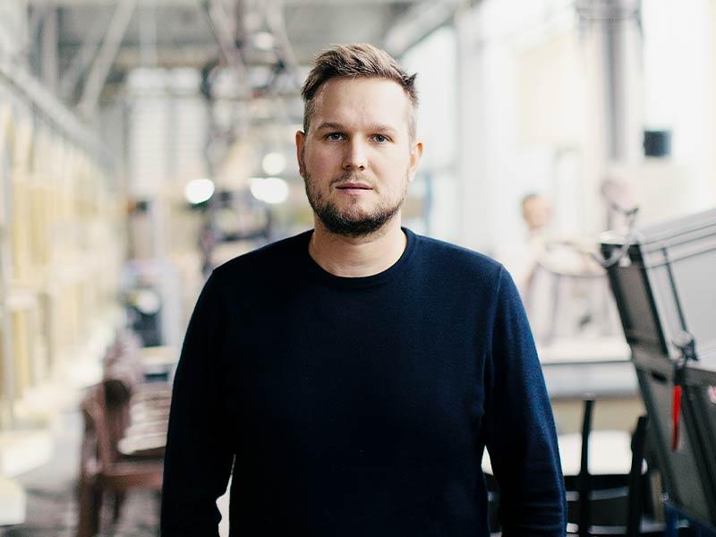 Industrie-Designer Sebastian Herkner