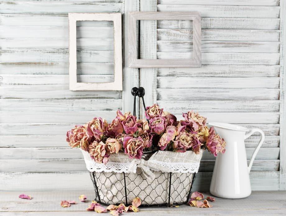 rosenkorb dekoration