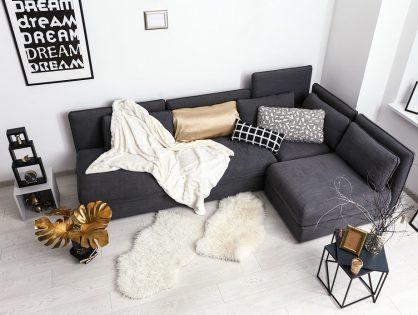 Interieur in Schwarz und Grau ist im Trend