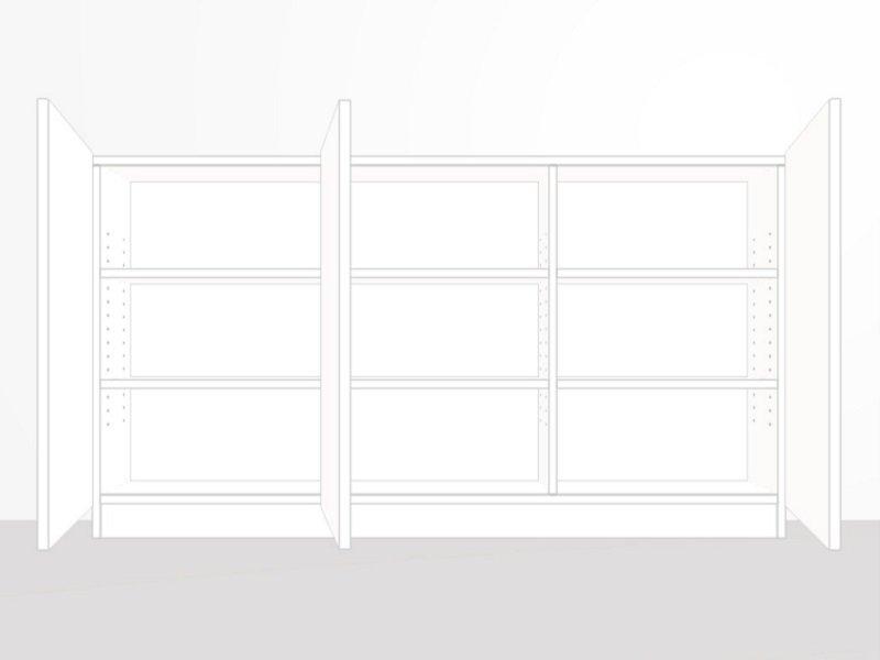 sideboard innenaufteilung