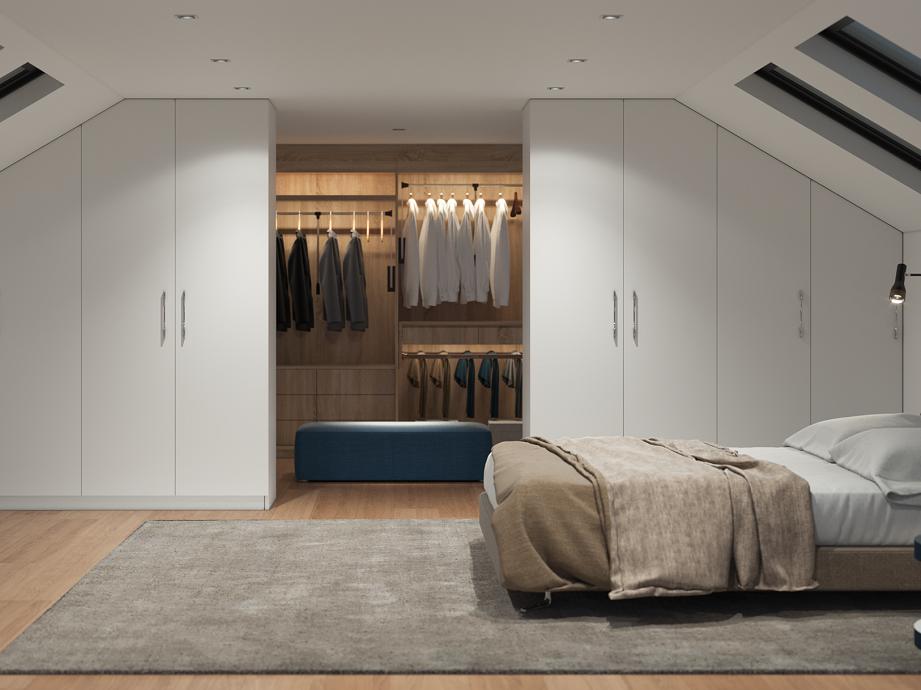 Ein Ankleidezimmer Unter Dem Dach Blog Schrankwerk