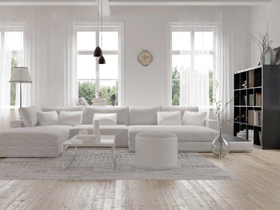wohnzimmer skandinavisch