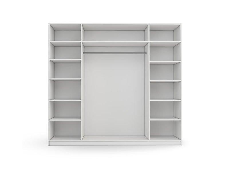 Mudroom-Schrank weiß Modell Erwin