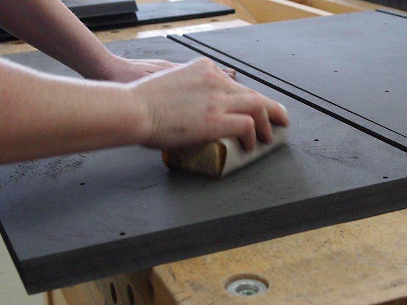 Regal Oberflächenbearbeitung