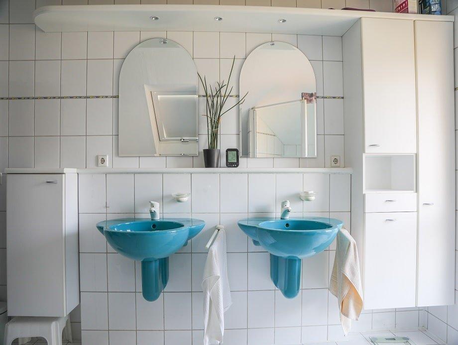 waschbecken badezimmer alt