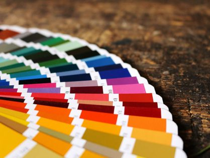 Einrichten mit RAL-Farbe bei schrankwerk