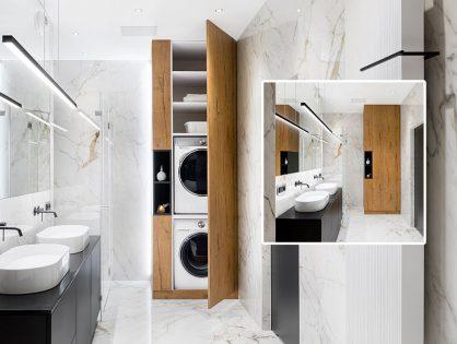 Wie ein Waschmaschinenschrank das Wäschewaschen verändern kann
