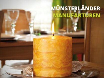 Von Hand geknetet: Leuchtendes Handwerk aus der Kerzen-Manufaktur Ahlen