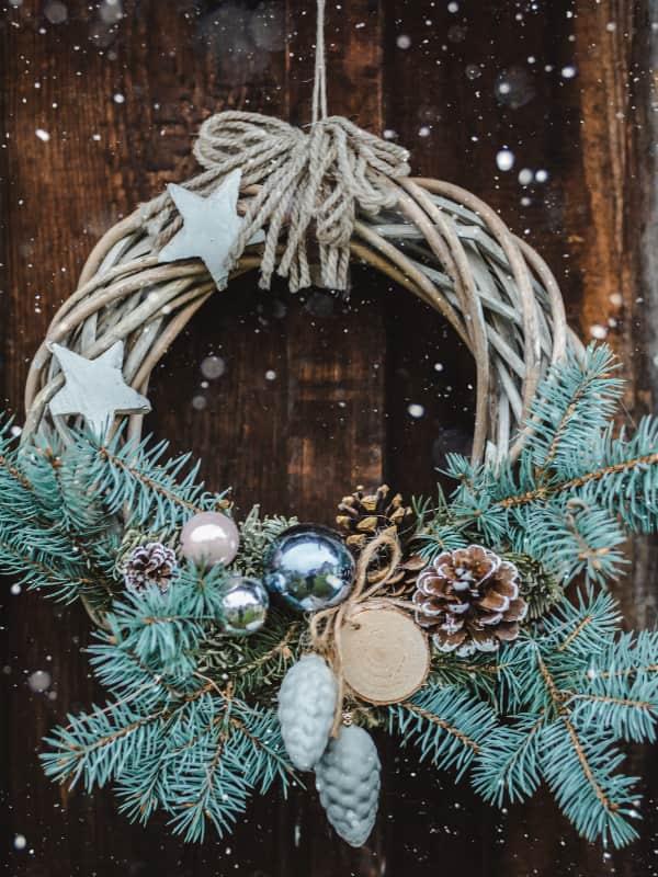 weihnachtsdekoration-haustuer