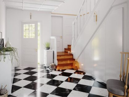 Unter der Treppe: Planen Sie Ihren Einbauschrank auf Maß!