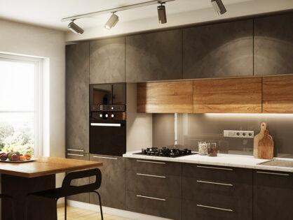 Küchentrend 2021: Eine Küche in Schwarz