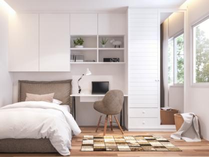 Planungstipps für kleine Schlafzimmer