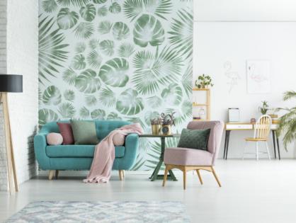 Vorhang auf für schöne Wände: Neun kreative Ideen