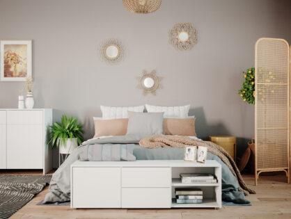Bitte Platz nehmen! Die Bettbank im Schlafzimmer