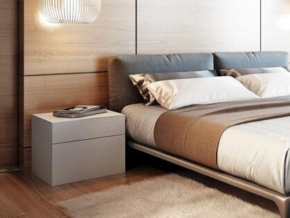 Aufregend klein: Der Nachttisch im Schlafzimmer