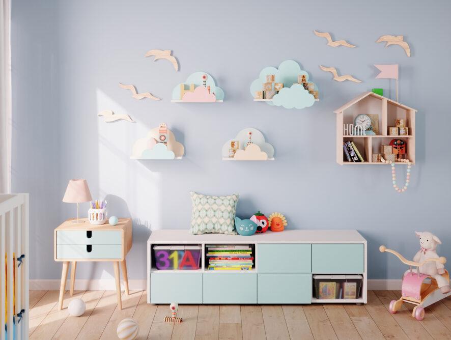 Stauraum schaffen: Spielzeug verstauen im Kinderzimmer