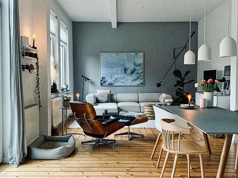 Wohnzimmer und Esszimmer von friloconcept: Instagram Interior Accounts zur Inspiration