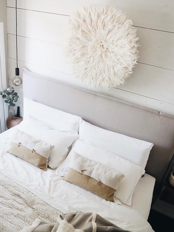 Das Schlafzimmer von sardoe in hellen Tönen