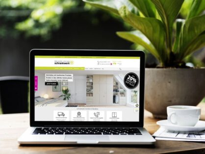 CO2-neutrale Website:  schrankwerk.de