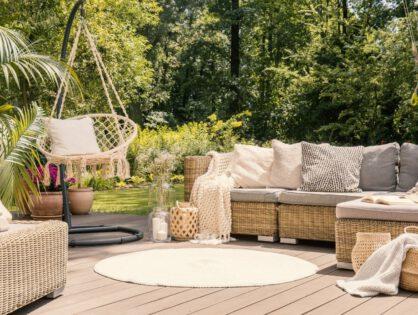 Sommerliche Einrichtungsideen für draußen