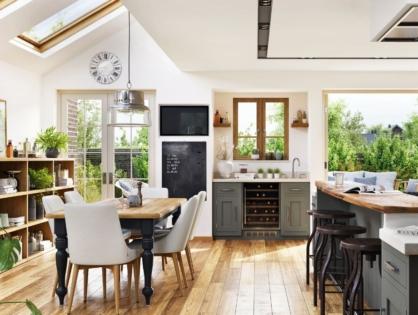 Perfekt versteckt: 5 Tipps für Stauraum in der Küche