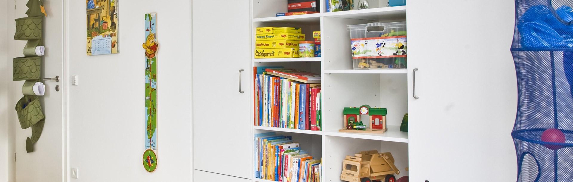 Regalsystem im Jugendzimmer
