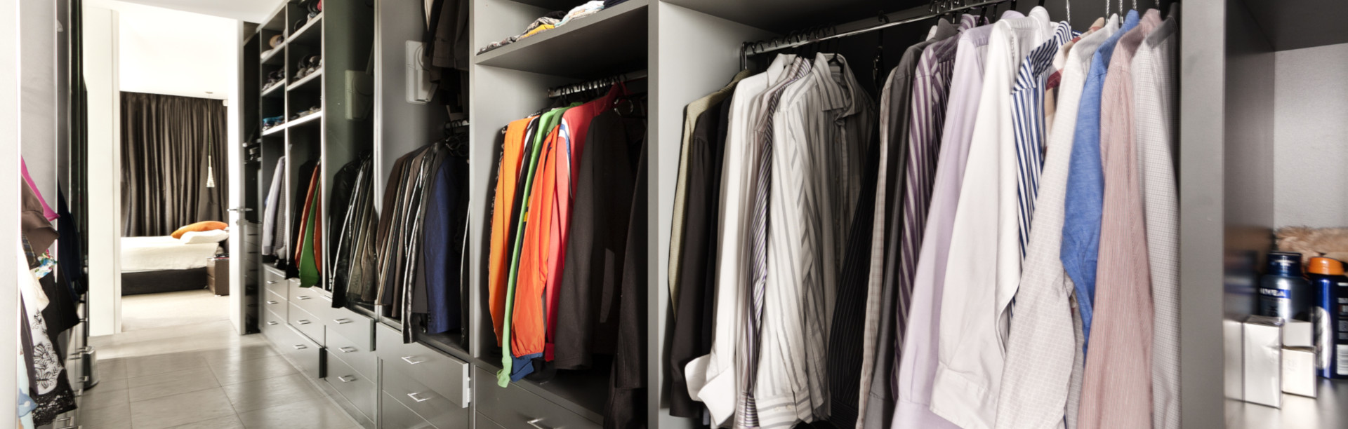 Begehbarer Kleiderschrank Furs Schlafzimmer Planen Schrankwerk De